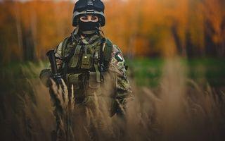 Фото бесплатно девушка, военная, форма