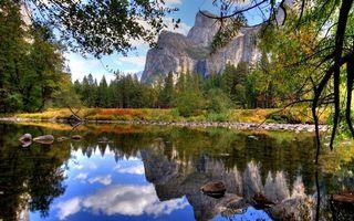 Бесплатные фото горы,скалы,река,озеро,отражение,камни,деревья