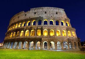 Фото бесплатно колизей, рим, италия