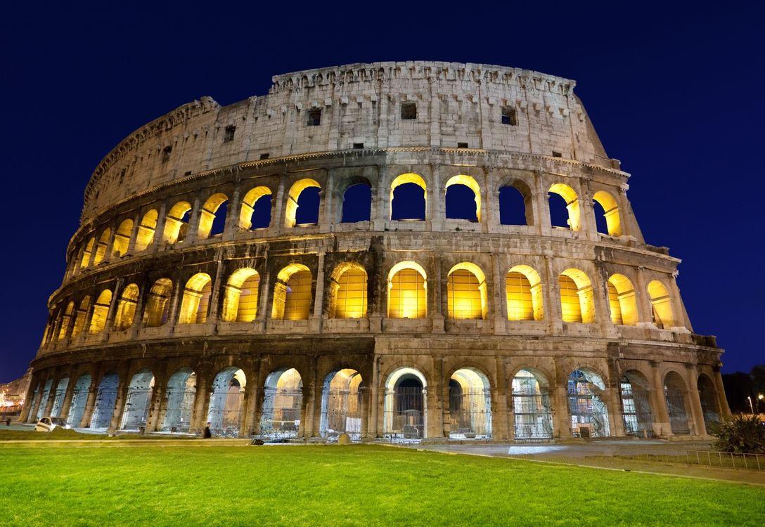 Фото бесплатно колизей, рим, италия - на рабочий стол