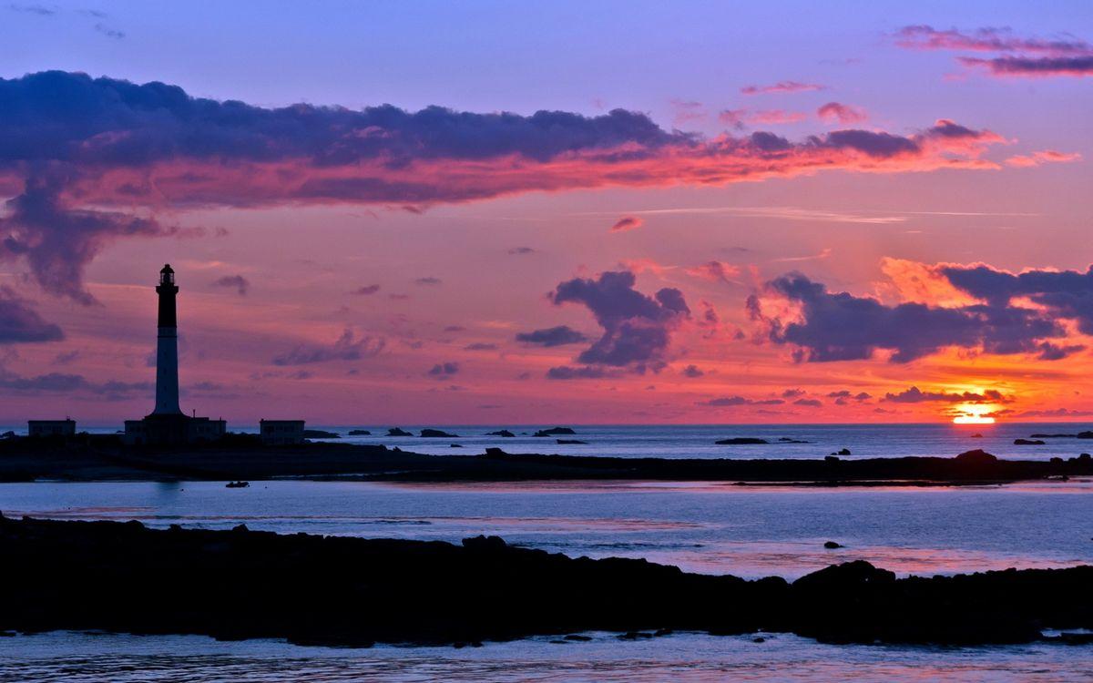 Фото бесплатно море, камни, островки - на рабочий стол