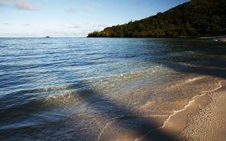 Бесплатные фото море,океан,вода,волны,берег,песок,горы