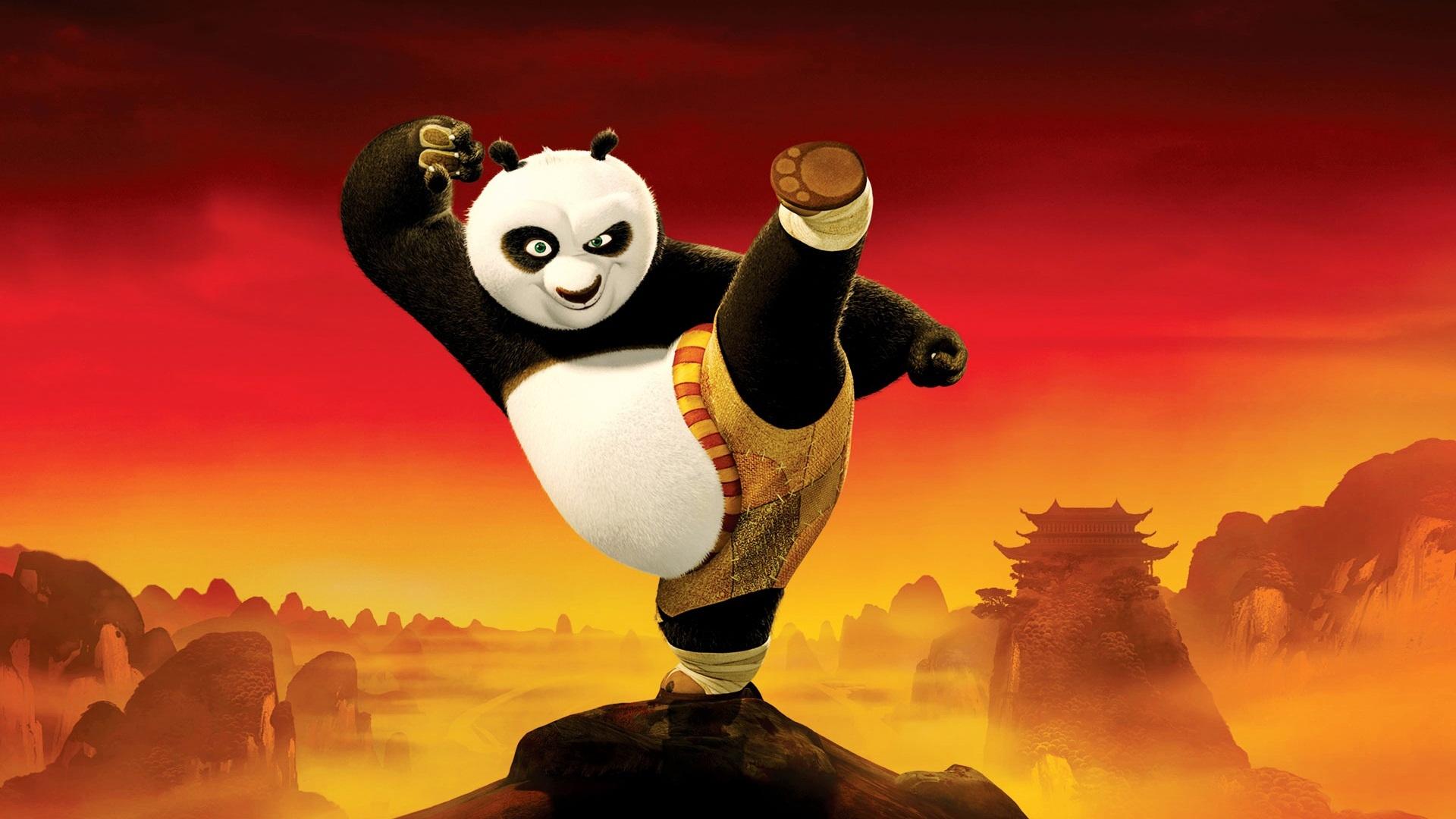 мультик, анимэ, панда
