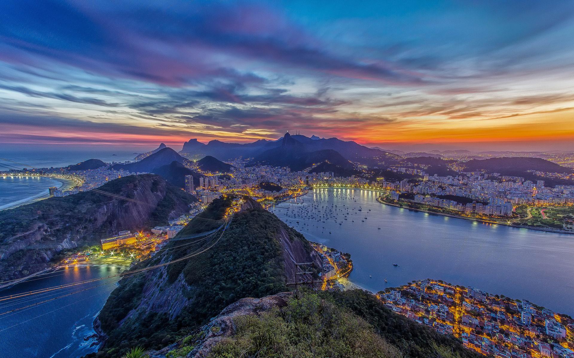 Сверкающий Рио-Де-Жанейро  № 1457504 без смс