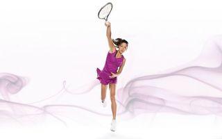 Заставки большой,теннис,теннисистка,ракетка,удар,спорт