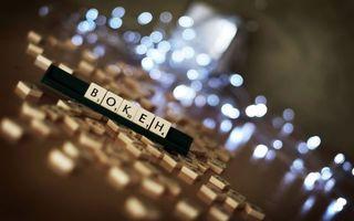 Фото бесплатно буквы, кубики, стол