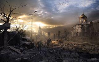 Бесплатные фото дома,церковь,люди,руины,деревья,фонари,улицы