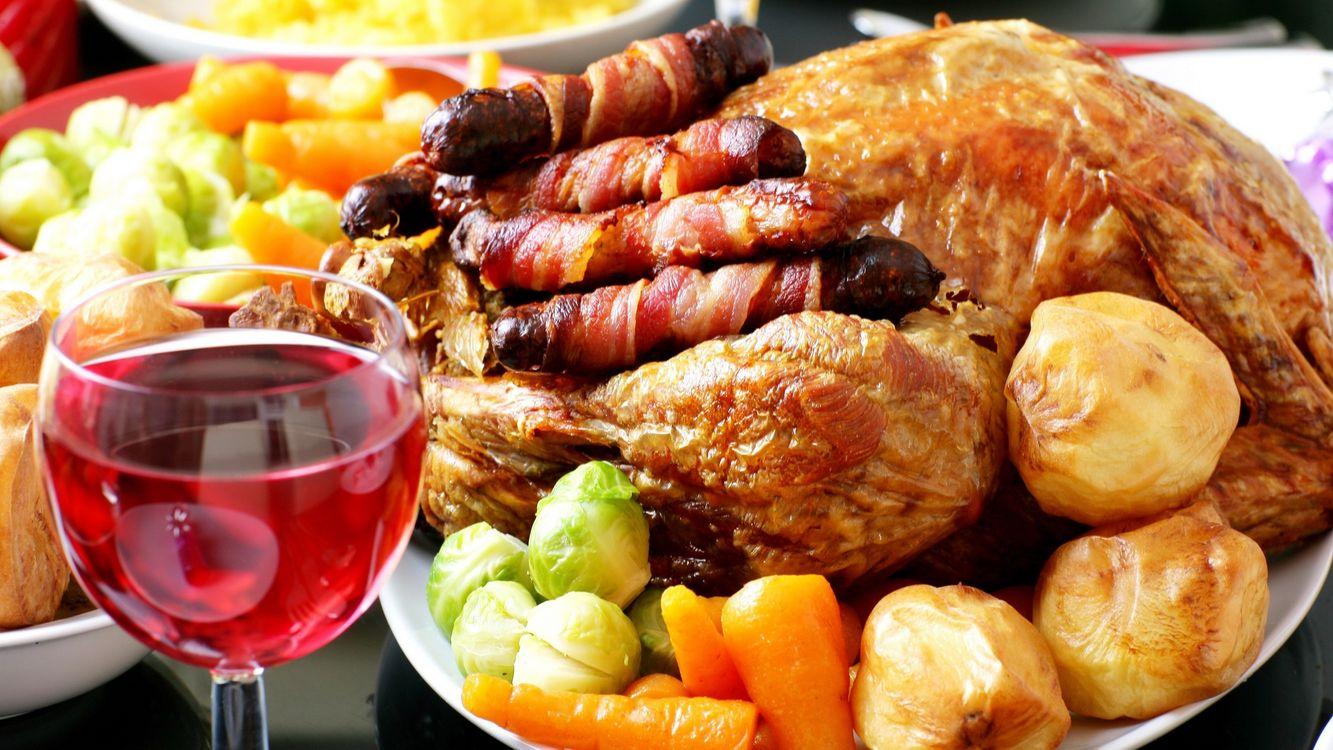 Фото бесплатно курица, мясо, вино - на рабочий стол