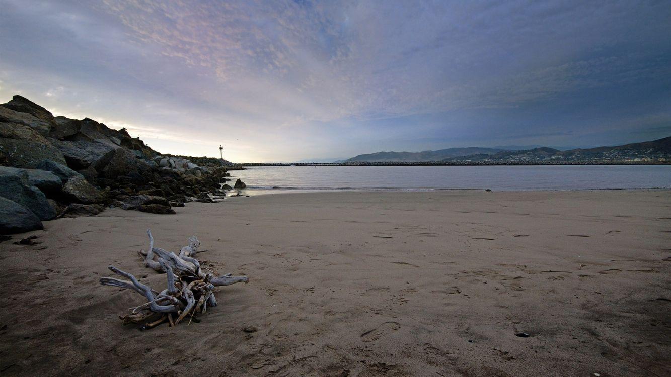 Фото бесплатно берег, природа, песок - на рабочий стол