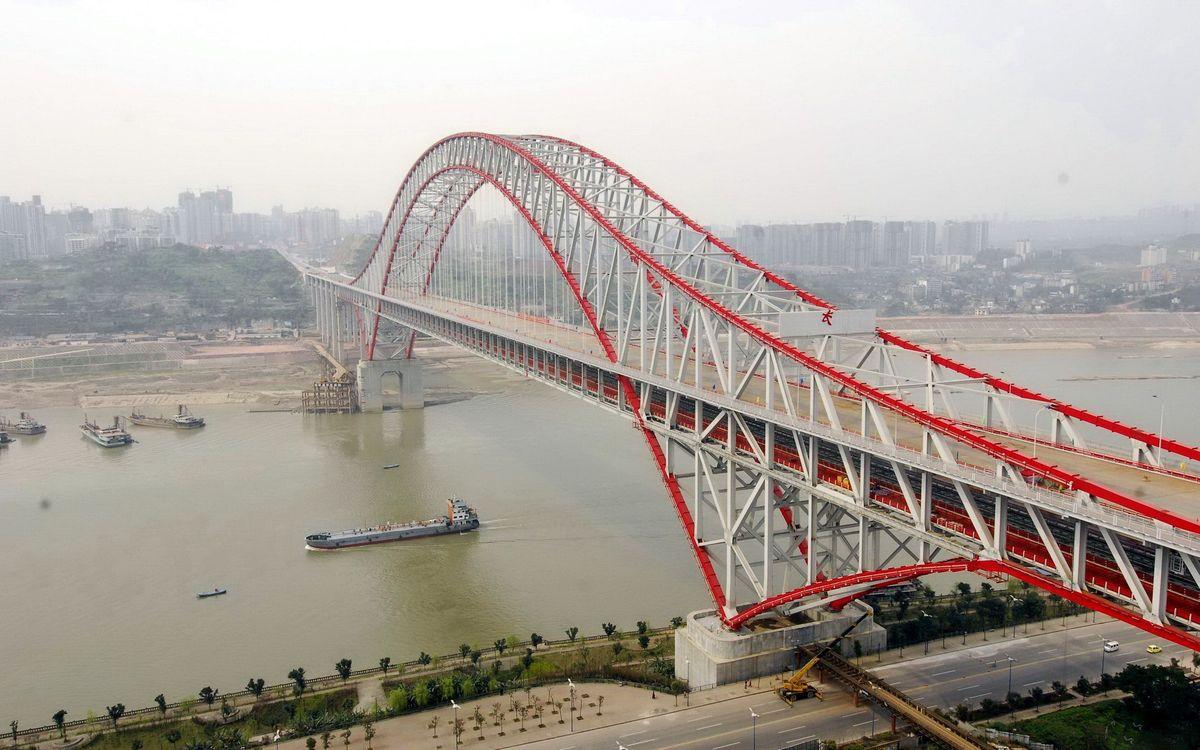 Фото бесплатно мост, каркас, дорога - на рабочий стол