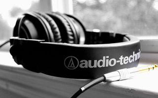 Обои музыка, звук, частоты, провод, разъем, обруч
