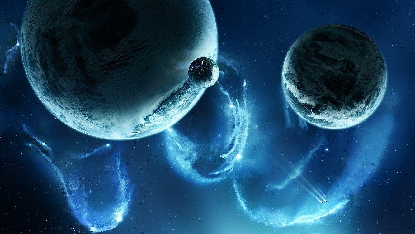 Фото бесплатно небо, планеты, звезды - на рабочий стол