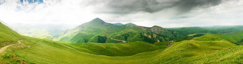Фото бесплатно новая земля, зеленые холмы, трава