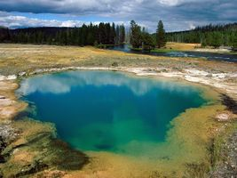 Бесплатные фото озеро,река,трава,лес,деревья,небо,облака
