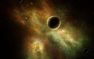 Фото бесплатно планеты, звезды, созвездия, вселенная, невесомость, вакуум, космос
