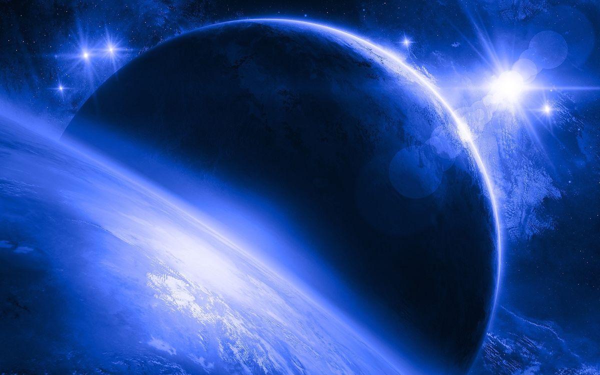 Фото бесплатно планеты, космос, новые миры, звезды, галактика, фантастика, фантастика
