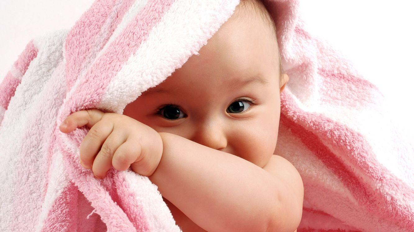Фото бесплатно полотенце, ребенок, малыш - на рабочий стол