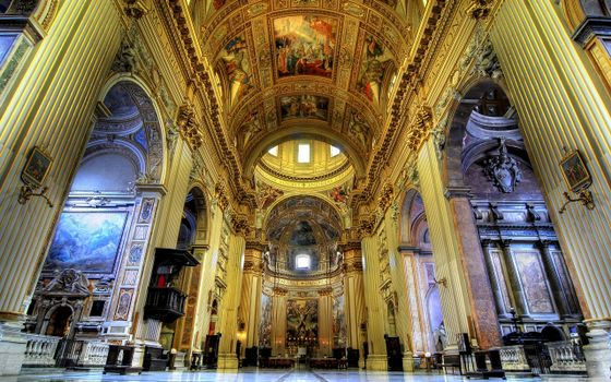 Photo free saint andrea della valle, church, rim