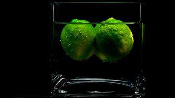 Фото бесплатно стакан, вода, напиток, лимоны, три, напитки