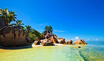 Бесплатные фото тропики,сейшелы,море,остров,пляж,пейзажи