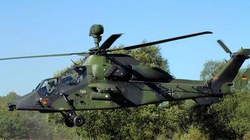 Фото бесплатно вертолет, пропеллер, взлет