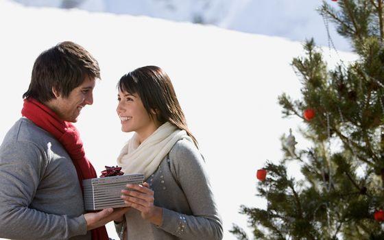 Фото бесплатно новый год, мужчина, женщина