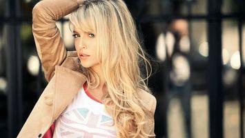 Фото бесплатно девушка, актриса, блондинка
