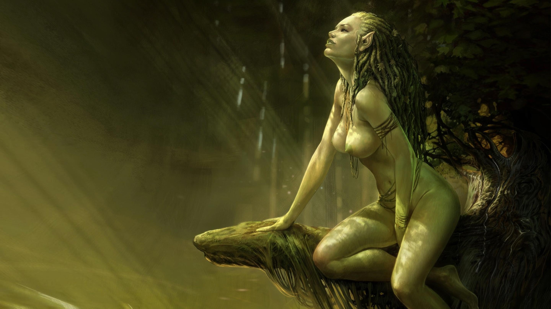 Рисованные голые девушки из игр 26 фотография