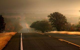 Бесплатные фото дорога,асвальт,разметка,небо,деревья,трава,разное