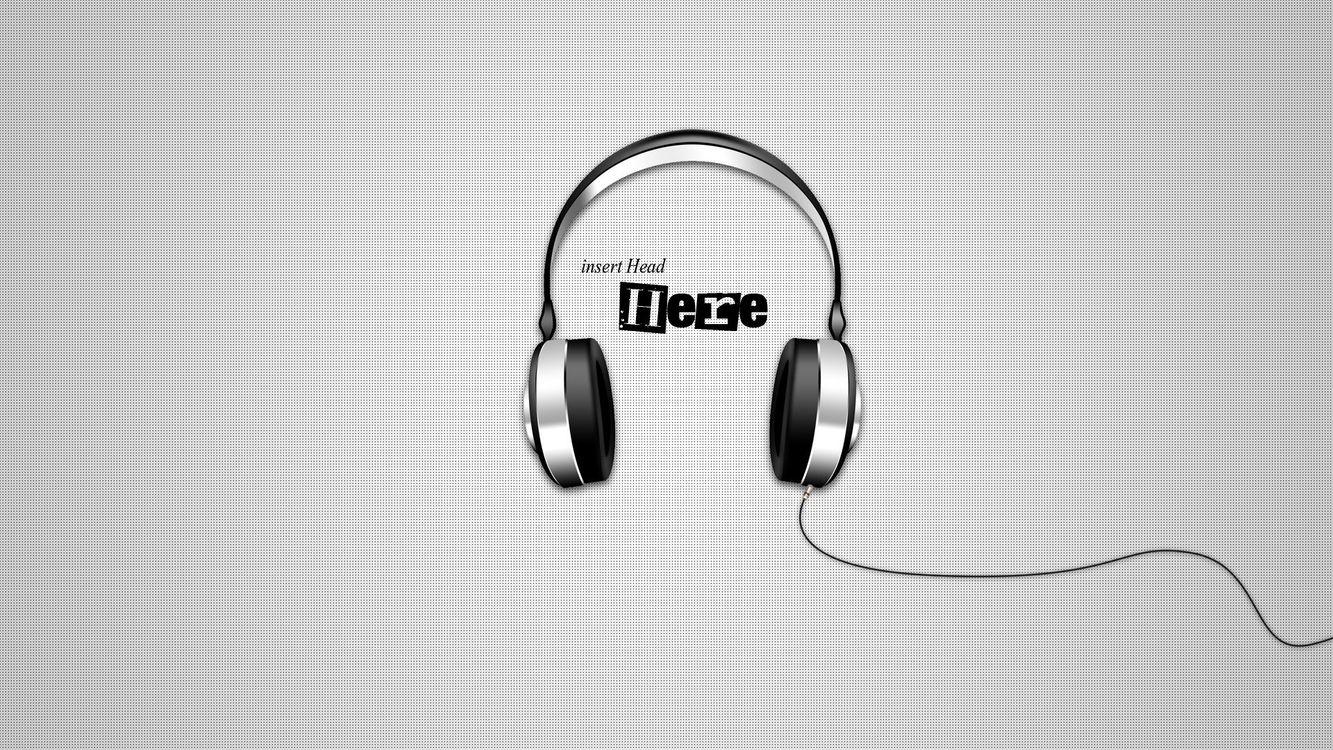 Photos for free headphones, insert, head - to the desktop