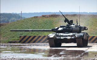 Фото бесплатно танк, броня, башня, ствол, полигон, испытания, оружие