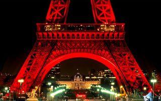 Бесплатные фото франция, париж, ночь, эйфелева, башня, подсветка, город