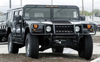 Photo free hummer, jeep, black