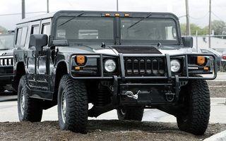 Фото бесплатно hummer, джип, черный, машины