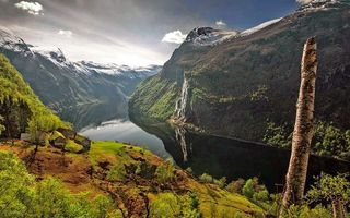 Photo free mountains, landscapes, river