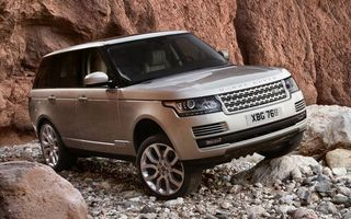 Photo free range rover, SUV, silver