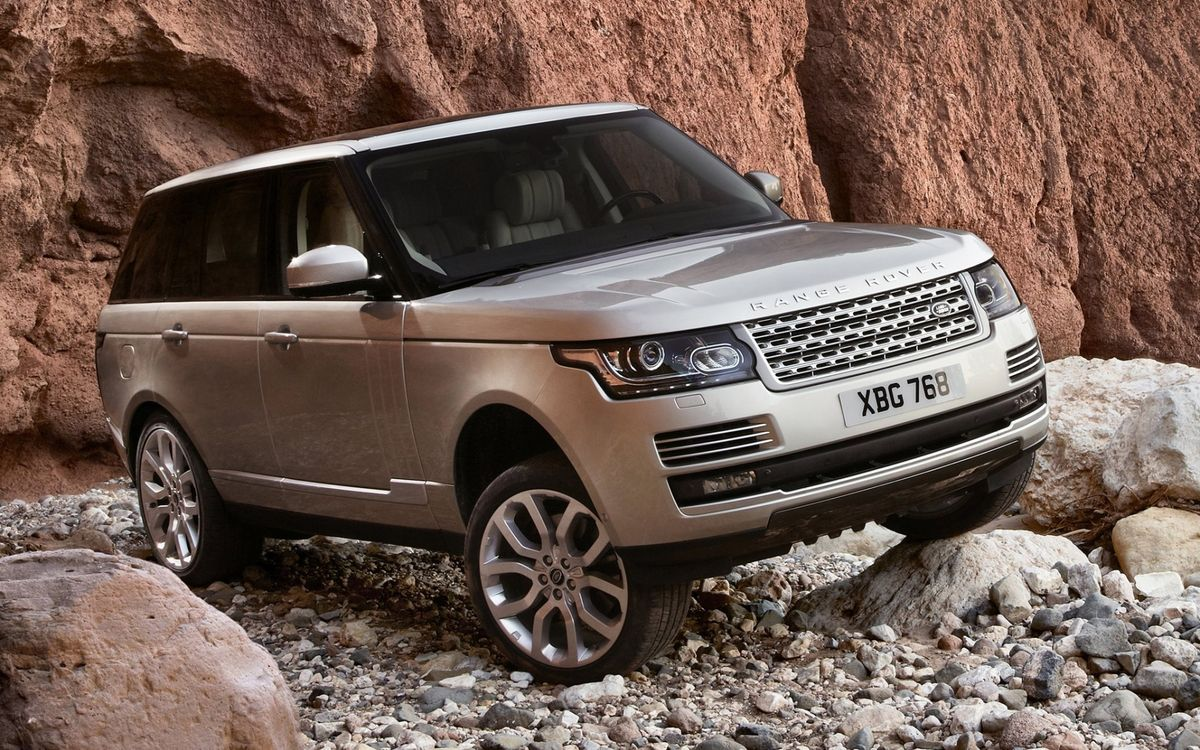 Photos for free range rover, SUV, silver - to the desktop