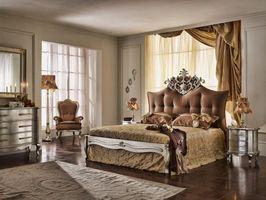 Бесплатные фото спальня,кровать,пол,ковер,окно,шторы,комод