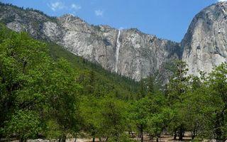 Бесплатные фото вода,брызги,горы,скалы,камни,зелень,деревья