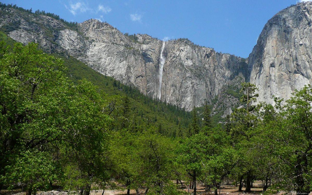 Фото бесплатно вода, брызги, горы, скалы, камни, зелень, деревья, пейзажи, природа, природа
