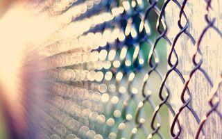 Бесплатные фото забор, сетка, проволока, столб, деревянный, свет, лучи