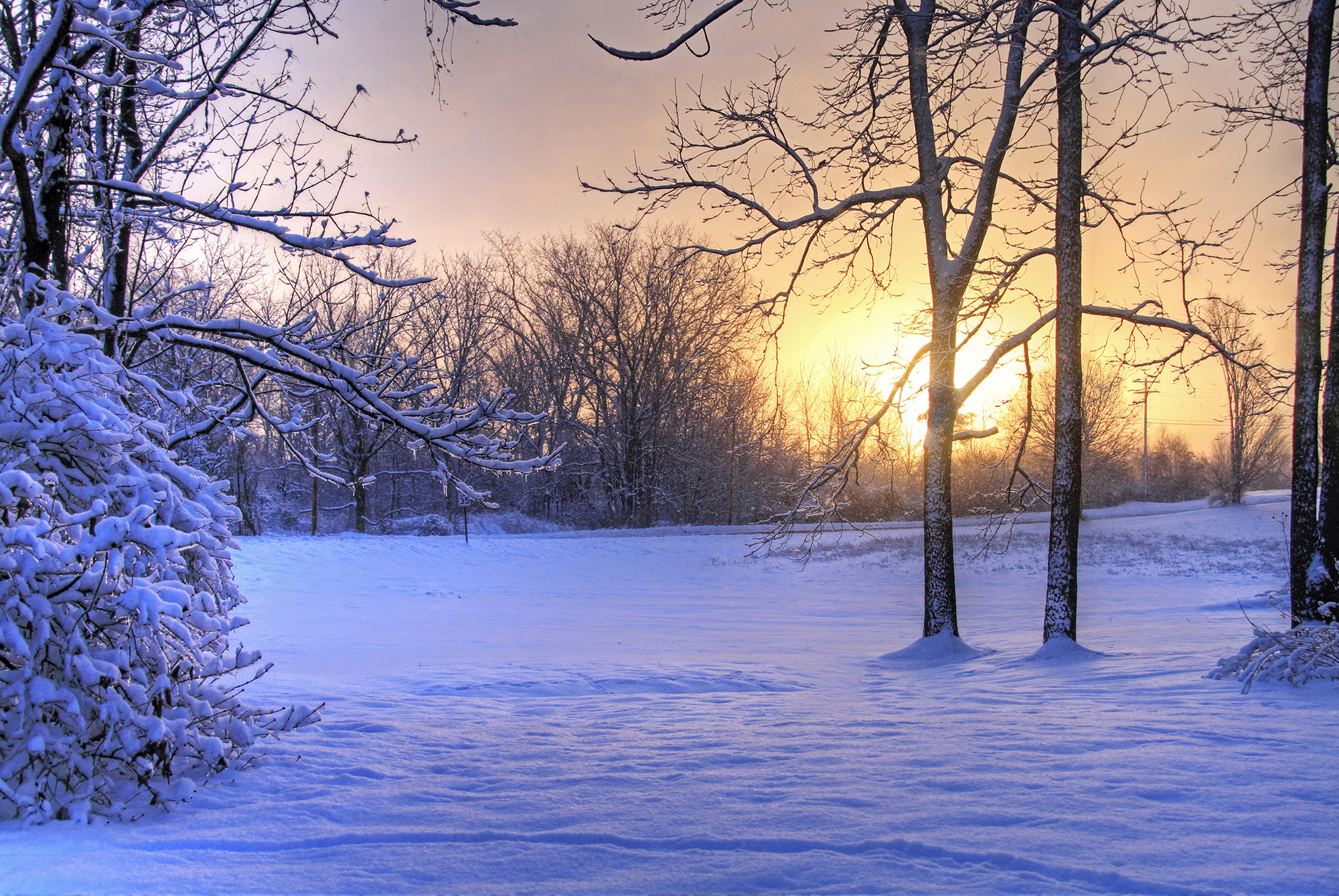 Зимние картинки для обоев на телефон