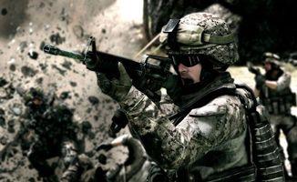 Бесплатные фото автомат,soldier,оружие,солдат,battlefield,m-16