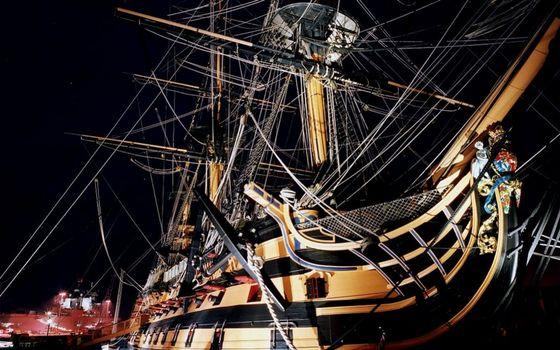 Фото бесплатно корабль, старинный, большой
