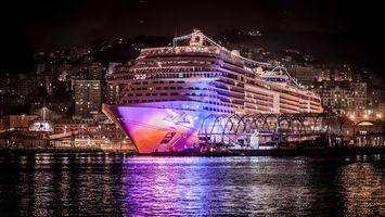 Бесплатные фото корабль,крейсер,круиз,улицы,море,океан,вода
