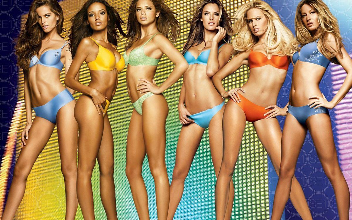 Фото бесплатно модели, девушки, купальники - на рабочий стол