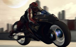 Бесплатные фото мотоцикл,байк,колеса,парень,гонка,свет,огни