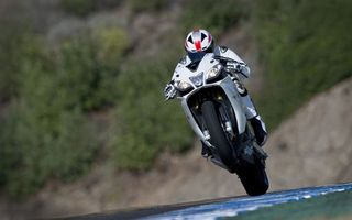 Photo free motorcycle, track, speed