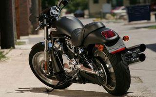 Фото бесплатно мотоцикл, выхлоп, протектор