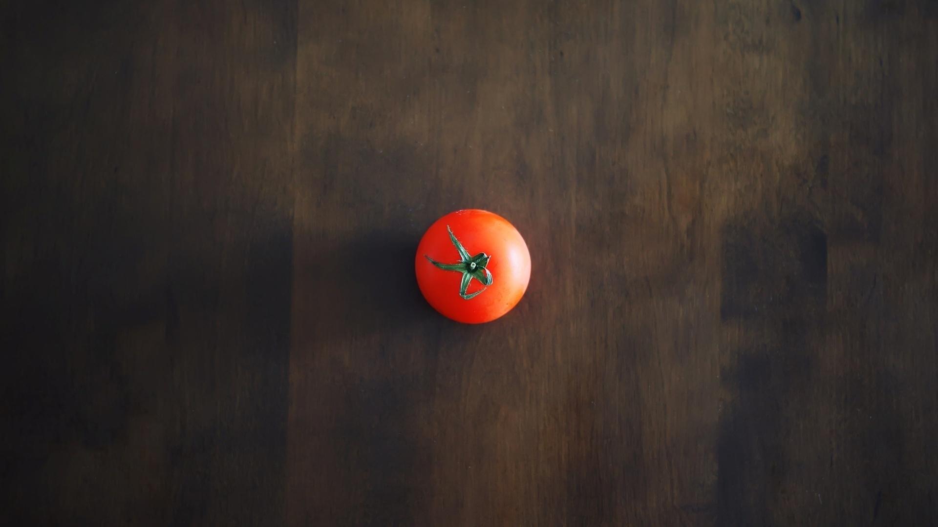 помидор, красный, хвостик